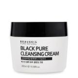 Mua Kem Tẩy Trang Lam Sạch Sau Beauskin Black Pure Cleansing Cream 300Ml Hang Chinh Hang Rẻ