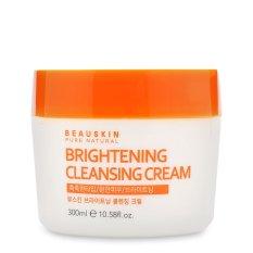 Bán Mua Kem Tẩy Trang Lam Trắng Sang Da Beauskin Brightening Cleansing Cream 300Ml Hang Chinh Hang