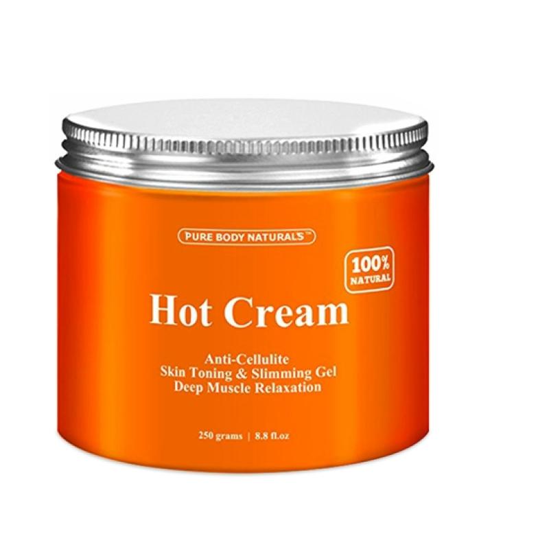 Kem Thoa Tan Mỡ Hot Cream Pur Body Naturals 250Gr