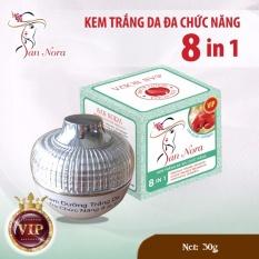 Cửa Hàng Kem Trắng Da Đa Chức Năng Dưỡng Chất Linh Chi Đỏ Va Collagen 8 Tac Dụng San Nora 30G Oem Trong Hồ Chí Minh