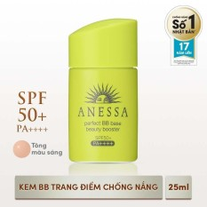 Bán Kem Trang Điểm Chống Nắng Bb Tong Mau Sang Anessa Perfect Bb Base Beauty Booster Light Spf 50 Pa 25Ml