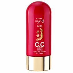 Chiết Khấu Kem Trang Điểm Dưỡng Da Cc Cream Red Ginseng My Gold Han Quốc 50Ml Hang Chinh Hang Korea