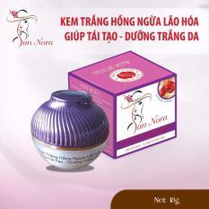 Mã Khuyến Mại Kem Trắng Hồng Ngừa Lao Hoa Giup Tai Tạo Da Dưỡng Chất Linh Chi Đỏ Va Collagen San Nora 18G Trong Hồ Chí Minh
