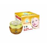 Kem Trị Nam Đồi Mồi Ngừa Nhăn Lam Trắng Da V 9 Ngọc Trai Đen Sữa Ong Chua Nhật Việt Cosmetics 16G Nguyên