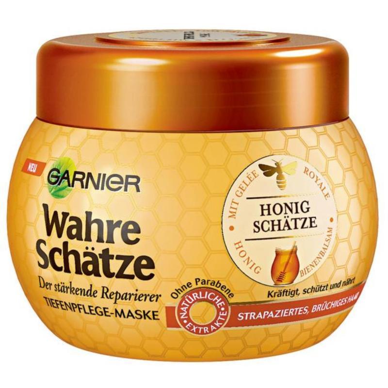 Kem ủ tóc Garnier Wahre Schätze Honig Schätze Kur (300ml)