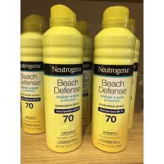 Kem Xịt Chống Nắng Neutrogena Beach Defense Spf 70 Chống Nắng Toan Than Neutrogena Chiết Khấu