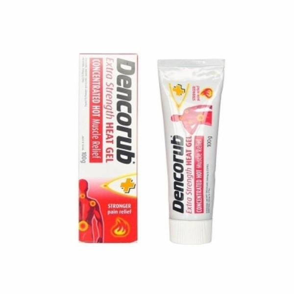 Kem xoa bóp Dencorub Heat Gel bôi chống viêm khớp và đau cơ cực hiệu quả của Úc