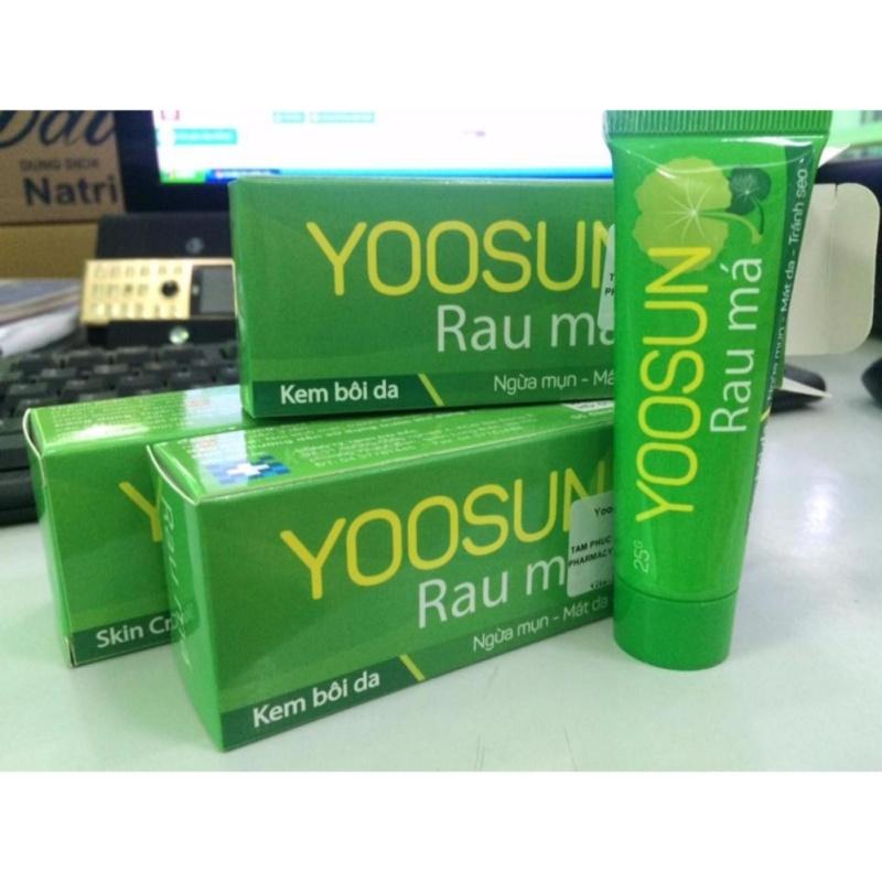 Kem YooSun rau má nhập khẩu