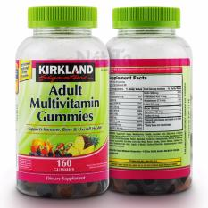 Giá Bán Rẻ Nhất Kẹo Dẻo Bổ Sung Vitamin Cho Người Lớn Kirkland Signature *d*lt Multivitamin Gummies Hộp 160 Vien Mỹ