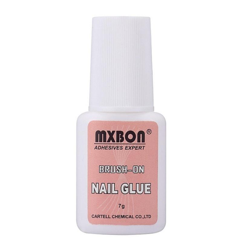 Combo 2 chai Keo đính hạt đá, dán móng Nails - MXBON