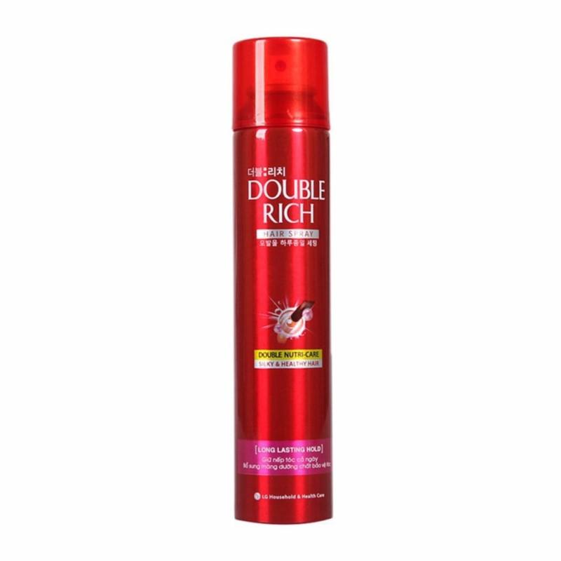 Keo Xịt Giữ Nếp Tóc Double Rich Hair Spray 170Ml ( Chuẩn Chính Hãng) giá rẻ