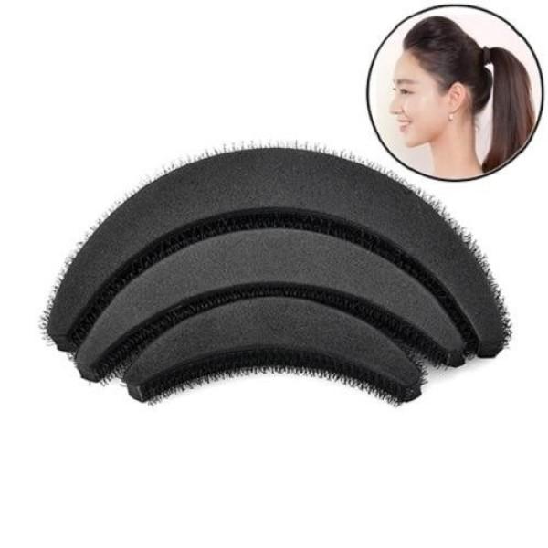 Kẹp phồng tóc mái 1 sét 3 chiếc giúp bạn đội mũ thoải mái không sợ tóc bị xẹp
