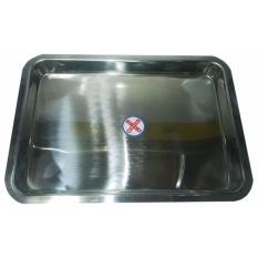 Hình ảnh Khay chữ nhật inox 30cmcmx40