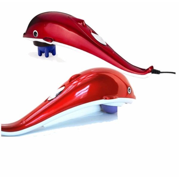 (Khuyến Mãi)_Máy Massage Cá Heo Cầm Tay 3 Đầu Size lớn