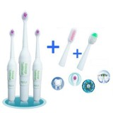 Kids Electric Toothbrush Rotary Non-slip Waterproof Electric Toothbrush With 2 Extra Heads Brush Toothbrush Oral Toothbrush Care