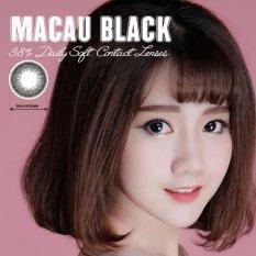 Hình ảnh Kính Áp Tròng Màu Dùng 1 Ngày Eye Secret - Macau Black (Đen)