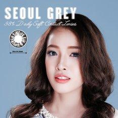 Hình ảnh Kính Áp Tròng Màu Dùng 1 Ngày Eye Secret - Seoul Grey (Xám)