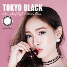 Hình ảnh Kính Áp Tròng Màu Dùng 1 Ngày Eye Secret - Tokyo Black (Đen)