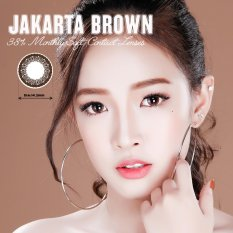 Hình ảnh Kính Áp Tròng Màu Dùng 1 Tháng Eye Secret - Jakarta Brown (Nâu)