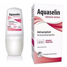 Lăn khử mùi Áquaselin dành cho nữ, dùng cho vùng nách đổ mồ hôi nhiều, có dán tem chống hàng giả cao cấp