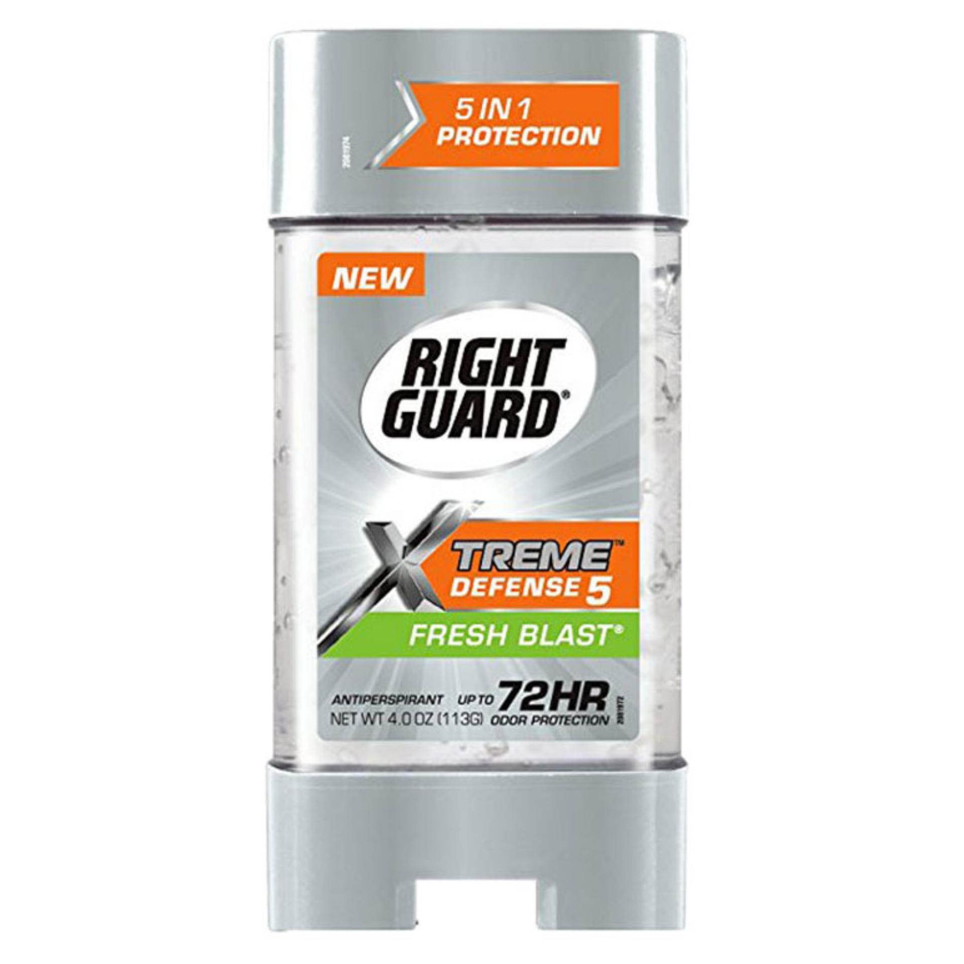 Lăn Khử Mùi Nam Right Guard Xtreme Defense 5 Fresh Blast 113G
