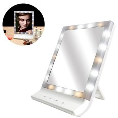 ĐÈN LED Trang Điểm Mỹ Phẩm có Gương Nhiều Chiếu Sáng Màn Hình Lớn Treo Tường Gương với 18 LED-quốc tế tốt nhất