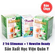 Liệu trình 2 Trà slimomax + 1 Newslim Beauty Học Viện Quân Y