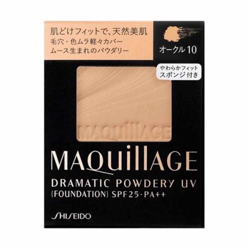 Lõi phấn trang điểm MAQUILLAGE DRAMATIC POWDERY UV 9.2g (OC 10)