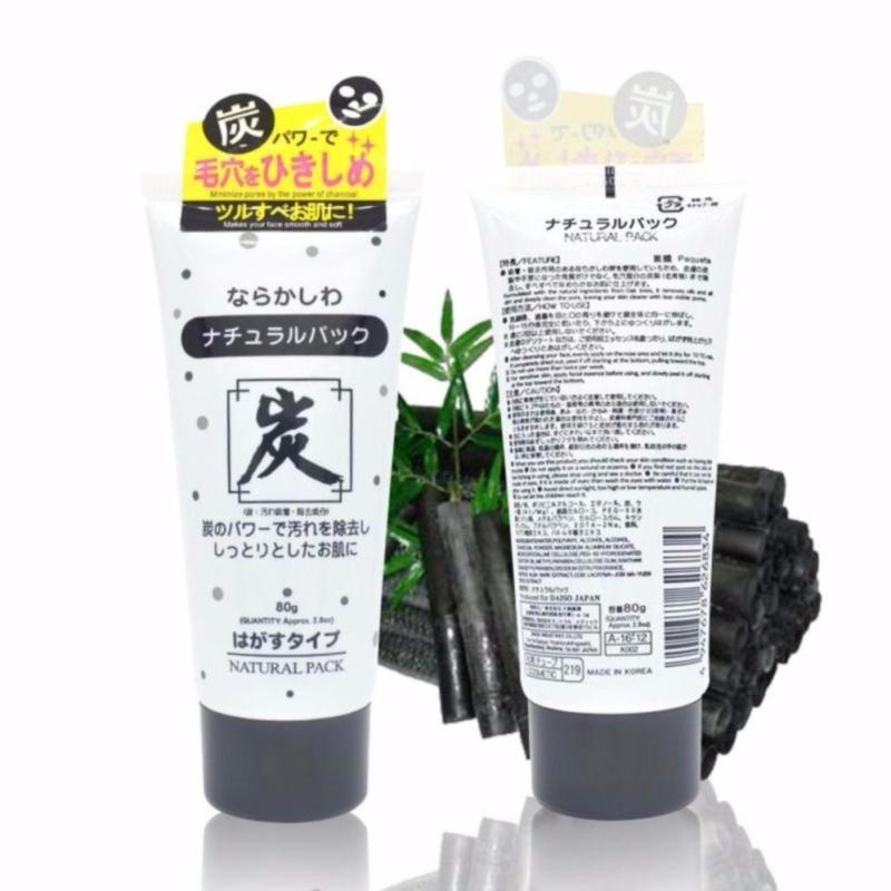 Lột mụn than hoạt tính Daiso Nhật Bản 80g