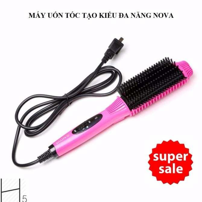 luoc dien chai toc, máy làm tóc đa năng 3 trong 1, tóc cúp phồng, LƯỢC ĐIỆN MINI ĐA NĂNG NOVA XB-6869 CAO CẤP, DỄ DÀNG SỬ DỤNG, LÀM ĐẸP MÁI TÓC NGAY HÔM NAY