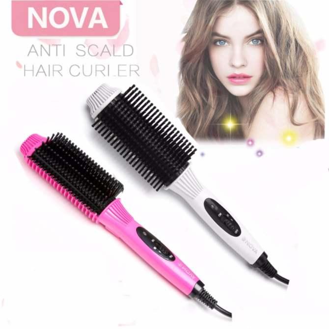 Lược điện uốn tóc Nova 8810 tôn vinh mái tóc NEW