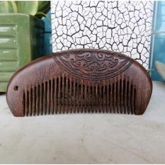 Lược gỗ đàn hương trạm khắc thủ công Mã 1202