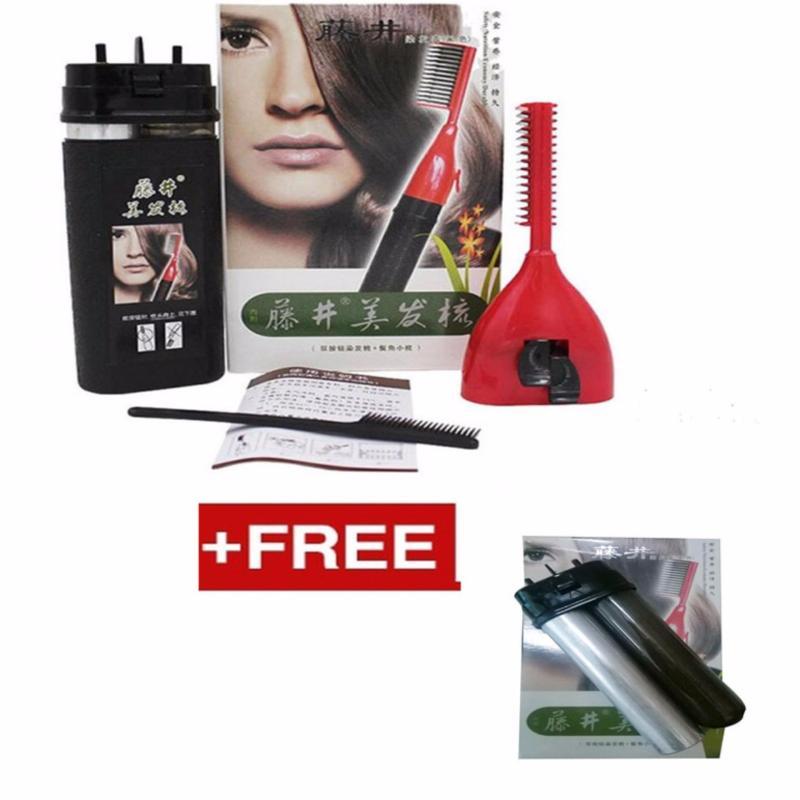 Lược nhuộm tóc thông minh ALIANG tặng kèm lõi thuốc nhuộm tóc thay thế (Đen) nhập khẩu