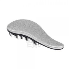 MagiDeal Beauty Healthy Styling Salon Care Hair Brush Comb Anti-static Silver - intl nhập khẩu