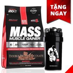 Hình ảnh Sữa tăng cân tăng cơ vị socola Mass Muscle Gainer, 20 lb/9.09 kg Chocolate