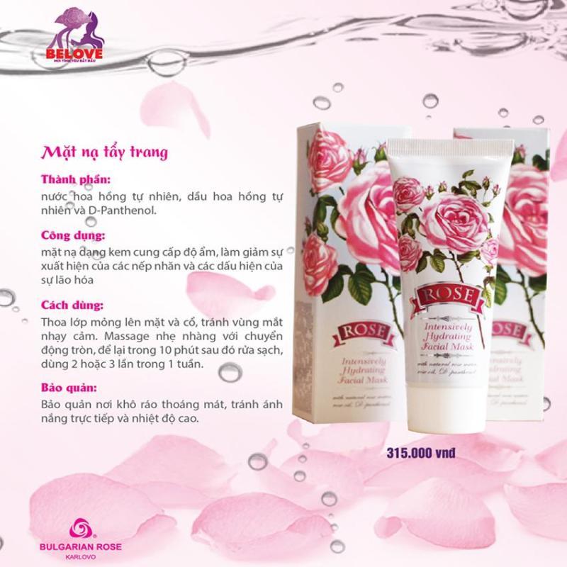 Mặt Nạ Dưỡng Ẩm Hoa Hồng Bulgarian Rose nhập khẩu