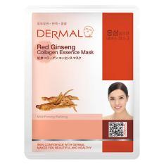Cửa Hàng Combo X10 Mặt Nạ Dưỡng Da Tinh Chất Hồng Sam Dermal Red Ginseng Collagen Essence Mask Dermal Trực Tuyến
