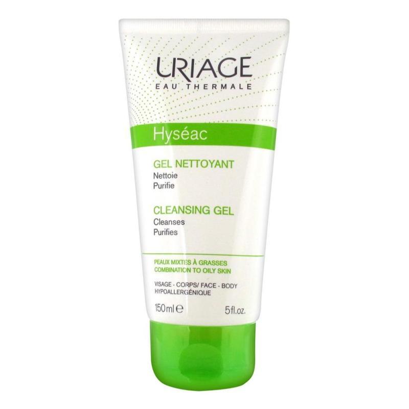 Sửa rữa mặt dành cho dầu, da mụn và da hỗn hợp Uriage Hyseac Gel Nettoyant 150ml nhập khẩu