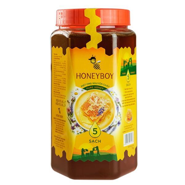 Mật Ong Thiên Nhiên 5 Sạch Honeyboy 1kg giá rẻ