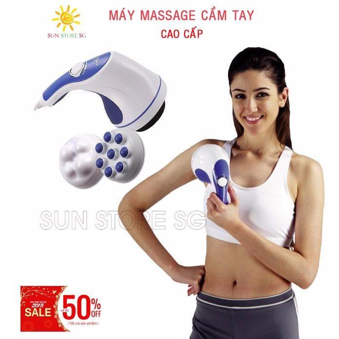 [HCM]Mát Xa Đánh Tan Mỡ Bụng  - Máy Massage  cầm tay Cao cấp - Giúp thư giãn và thon gọn cơ thể - Giảm 50% trong hôm nay chỉ có tại LAZADA
