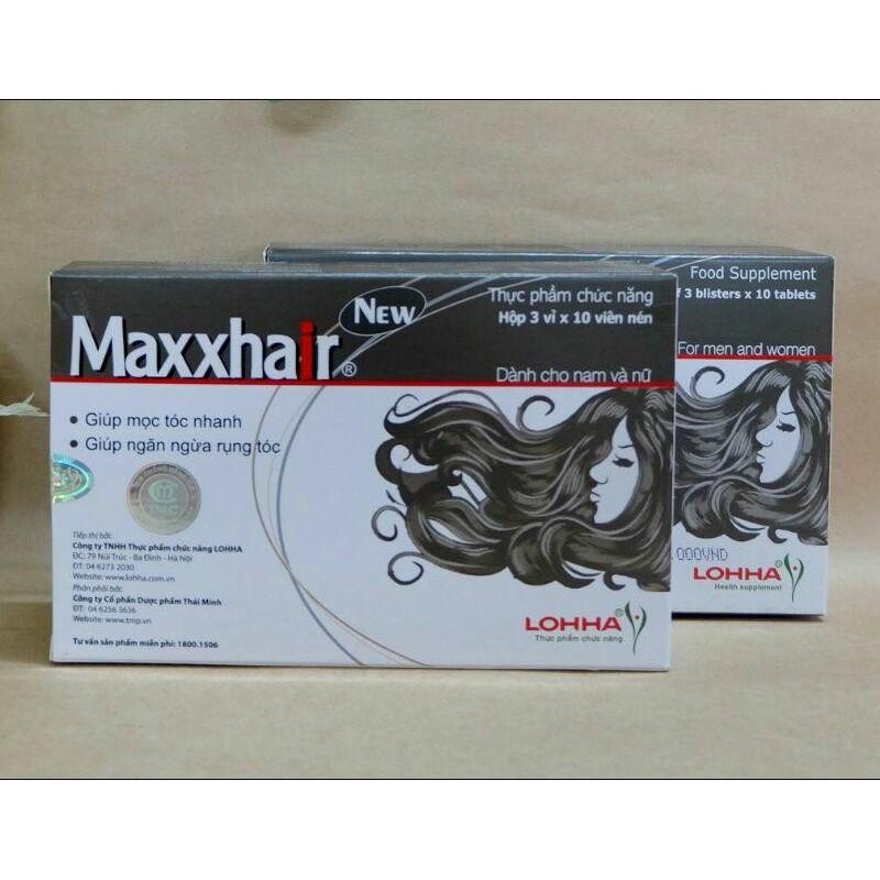 Maxxhair - Mọc tóc nhanh, ngừa rụng tóc nhập khẩu