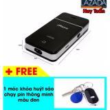 Giá Bán May Cạo Rau Chạy Pin Sạc Kiểu Dang Iphone Hiện Đại Tiện Dụng Đen Free 1 Moc Khoa Đen