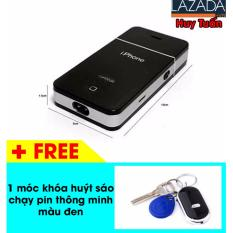Mua May Cạo Rau Chạy Pin Sạc Kiểu Dang Iphone Hiện Đại Tiện Dụng Đen Free 1 Moc Khoa Đen Huy Tuấn