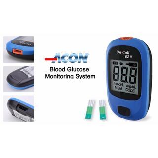 Máy đo đường huyết Acon On call Plus EZ II ( Kèm 25 que - YTELOC) thumbnail