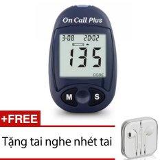 May Đo Đường Huyết Acon On Call Plus Xanh Đen Tặng 1 Tai Nghe Nhet Tai Rẻ