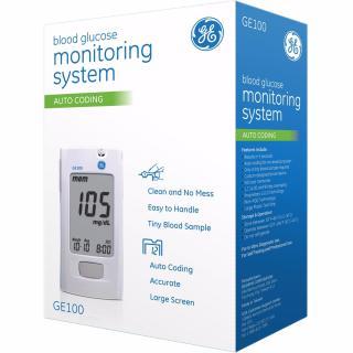 Ma y đo đươ ng huyê t Blood glucose monitoring system GE100 - Hoa ki thumbnail