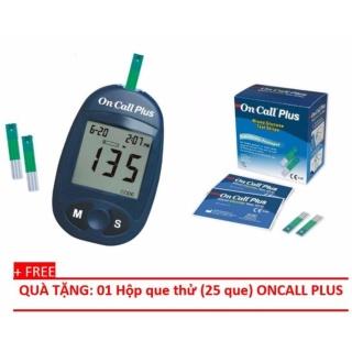 Máy đo đường huyết điện tử Acon ON CALL Plus G113-111 thumbnail
