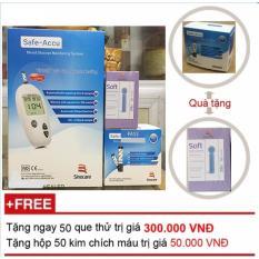 Ôn Tập May Đo Đường Huyết Safe Accu Sino Care