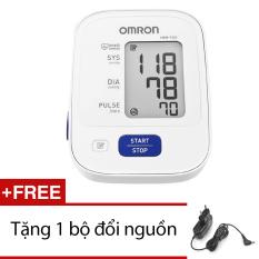 Hình ảnh Máy đo huyết áp bắp tay Omron HEM 7121 (Trắng) + Tặng bộ đổi nguồn