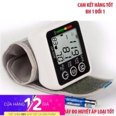 Máy đo huyết áp bắp tay omron loại nào tốt , May do huyet ap co - Máy đo huyết áp đeo cổ tay TFT - Hàng nhập khẩu cao cấp - BH uy tín 1 đổi 1 bởi TECH FUTURE chính hãng